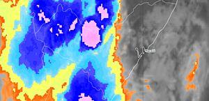 Semarh alerta para pancadas de chuvas e rajadas de ventos no interior de Alagoas