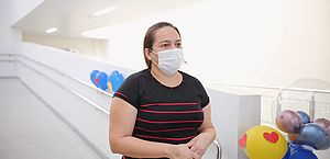 Turista de Manaus se recupera da Covid-19 no Hospital Regional do Norte