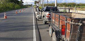 Trânsito: polícia realiza Operação Saturação em sete municípios do Agreste