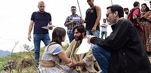 Diretor de 'Jesus' elogia Day Mesquita na gravação da libertação de Maria Madalena