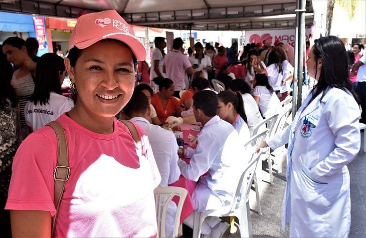 Sayonara Ferreira, enfermeira da Saúde da Mulher da SMS