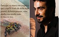 Tatuador conta detalhes sobre a tatuagem que fez no padre Fábio de Melo