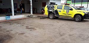 O grupo foi encaminhado para a Central de Polícia, em Arapiraca