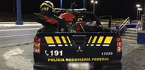 Homem é preso com moto adulterada em União dos Palmares