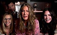 Atrizes de 'Friends' se reúnem durante Emmy 2020 e fãs repercutem momento nas redes
