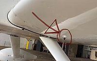 Vigilante disse que combustível foi retirado por um dreno que fica sob as asas da aeronave