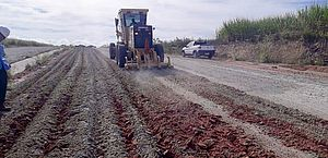 Estrada Aeroporto - Cachoeira do Meirim está prevista para ser entregue à população ainda neste primeiro semestre