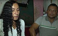 Mãe e padrasto em entrevista dois dias após o crime