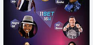 Reencontro do Samba reunirá 07 dos melhores representantes do samba do estado