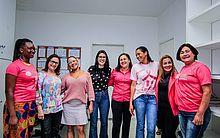 Assinatura do termo de cooperação para o Maceió Rosa