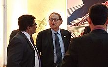 Coronel Nunes não conversou com os jornalistas durante o evento