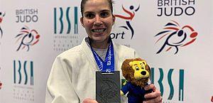 Judô paralímpico do Brasil vai quatro vezes ao pódio na Inglaterra