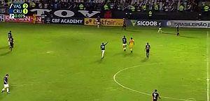 Vasco x Cruzeiro: Globo não vê gol anulado, erra placar e só descobre depois do jogo; assista
