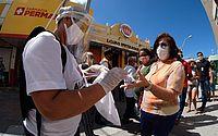 45 mil kits de máscaras serão distribuídos em Maceió até domingo (12)
