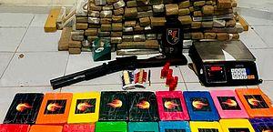 Segurança Pública apreende mais de 640 quilos de drogas em AL em dois meses
