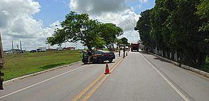 Motociclista morre ao ter cabeça esmagada em acidente na BR-316, em Pilar