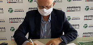 Rogério Teófilo, prefeito de Arapiraca