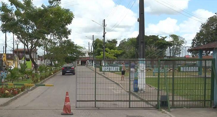 Condomínio onde houve a ocorrência em Satuba