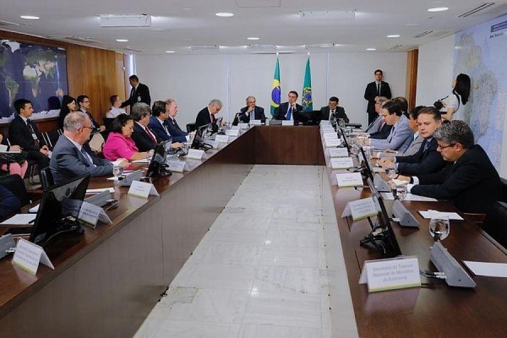 Governadores do Nordeste entregaram ao presidente da República uma carta em que apresentam os pontos prioritários para o diálogo com o Governo Federal