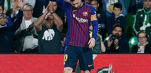 Messi mais uma vez foi o grande destaque do Barça