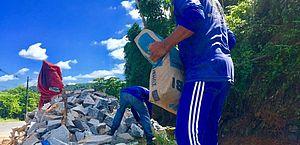 Prefeitura inicia obra de recuperação da Ladeira de Fernão Velho
