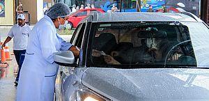 Influenza: vacinação drive-thru acontece nesta sexta e final de semana em Maceió