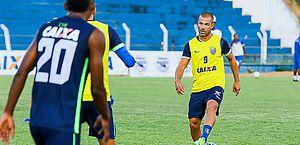 Velicka disputou cinco partidas na Série B pelo CSA e volta a ser relacionado por Marcelo Cabo