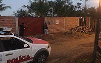 Policiais civis de São Miguel dos Campos durante ação que prendeu suspeitos de homicídios