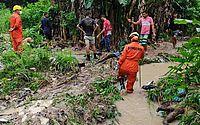 Corpo de bebê levado por enxurrada é encontrado soterrado em Chã da Jaqueira