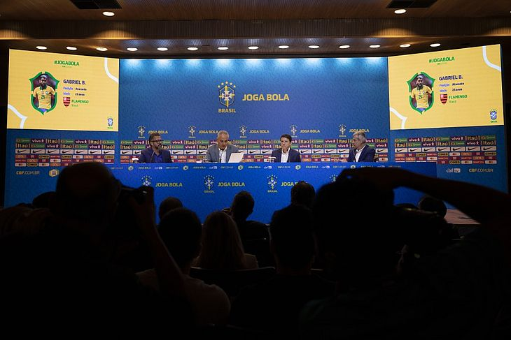 Convocação da Seleção Masculina Principal para as primeiras rodadas das Eliminatórias da Copa do Mundo de 2022