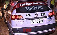 Denúncia de transporte de drogas faz PM prender dois suspeitos em Garça Torta